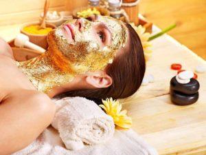 Facial 24k Gold Royal retreat spa Dubai